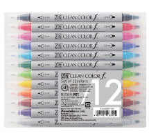 ZIG Clean Color f 12色セット